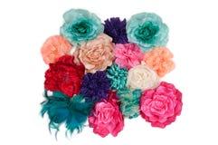 искусственная серия повелительниц цветков barrettes стоковое изображение