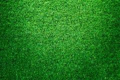 Искусственная текстура зеленой травы для дизайна Стоковые Фотографии RF