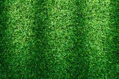 Искусственная текстура зеленой травы для дизайна Стоковое фото RF