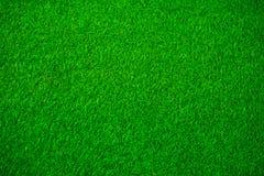 Искусственная текстура зеленой травы Стоковые Изображения