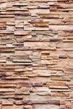 Искусственная текстура каменной стены в винтажном стиле стоковое изображение rf