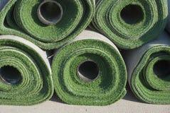 искусственние крены травы Стоковое Изображение RF