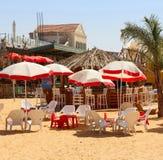 искусственний пляж Стоковая Фотография RF