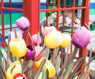 искусственний тюльпан Стоковые Фото