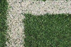 искусственний футбол поля Стоковая Фотография RF