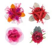 искусственний цветок собрания Стоковые Изображения