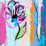 искусственним белизна предпосылки изолированная цветком Стоковая Фотография RF