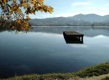 Искусственное озеро стоковое фото