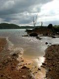 искусственное озеро Стоковые Фотографии RF