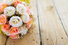 Искусственное цветение роз Стоковое Изображение