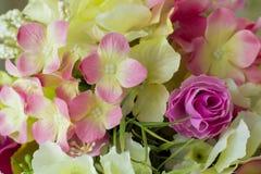 Искусственное flowersbouquet Стоковое Фото