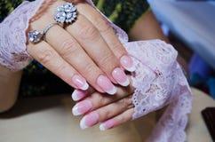 Искусственные ногти Стоковые Изображения