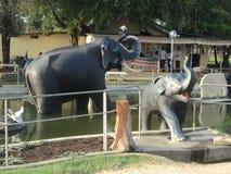 Искусственные слоны Стоковые Фотографии RF