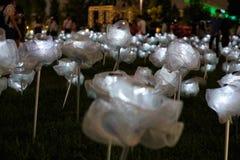 Искусственные цветки Стоковое Изображение