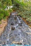 Искусственный водопад стоковые изображения