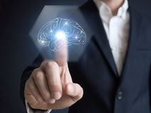 Искусственный интеллект, AI, сбор данных, генетическое программирование, машинное обучение Стоковая Фотография RF