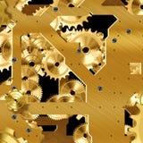 Искусственный механизм часов Стоковое Изображение RF