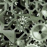 Искусственный механизм часов Стоковое Изображение