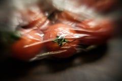 Искусственный овощ в зиме стоковые фото