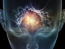 Искусственный разум Стоковые Изображения