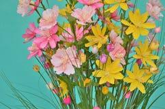Искусственный цветок одежд Стоковое фото RF