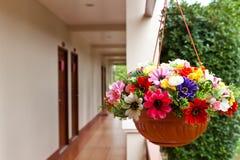 Искусственный цветок украшения Стоковое фото RF