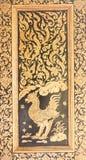 Искусство лака позолоты Стоковое Изображение