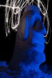Искусство бенгальского огня Стоковая Фотография RF