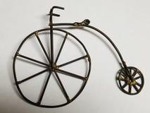 Искусство велосипеда колеса Farthing Пенни высокое стоковые изображения