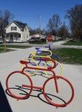 Искусство велосипеда Стоковые Изображения RF