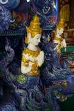 Искусство виска Таиланда Стоковое Изображение