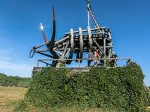 Искусство возражает в деревне Nikola-Lenivets зоны Kaluga России Стоковое Изображение