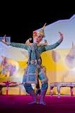 искусство вызвало khon Таиланд танцы Стоковые Фото