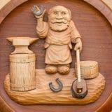 искусство высекая древесину Стоковая Фотография RF