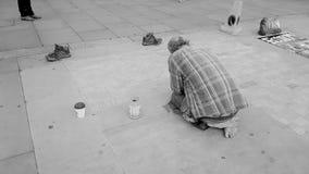 Искусство в квадрате Trafalgar Стоковые Изображения