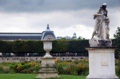 Искусство в саде Тюильри, Париже, Франции Стоковое Изображение