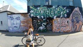 Искусство Голуэй улицы Стоковые Фотографии RF