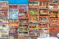 Искусство Гонконг граффити Стоковая Фотография