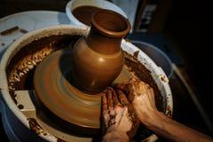 Искусство гончарни стоковые изображения