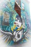 Искусство граффити в Сан-Франциско, Калифорнии Стоковая Фотография