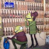 Искусство граффити Стоковое Изображение RF