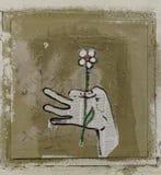 Искусство граффити Стоковые Фото