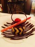 Искусство десерта стоковые фотографии rf
