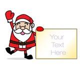 Искусство зажима Санта Клауса Стоковое Изображение
