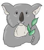 Искусство значка коалы Стоковая Фотография