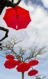 Искусство зонтика Стоковая Фотография RF