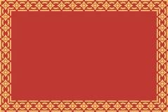 Искусство золотой тайской картины стиля традиционное Стоковое фото RF