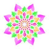 Искусство изображения цветка мандалы бесплатная иллюстрация