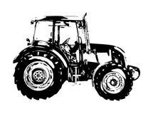 Искусство иллюстрации аграрного трактора бесплатная иллюстрация