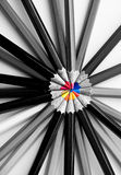Искусство карандаша цвета Стоковые Фотографии RF